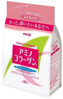 Harga JAPAN Meiji Amino Collagen Powder Regular Fill Pack - 214g (NEW- Expiry 2018)