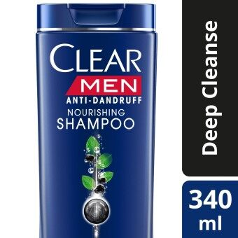 Harga Clear Men Deep Cleanse Anti-Dandruff Shampoo 340 ml