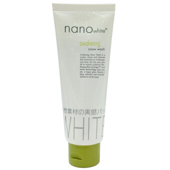 Harga Nano White Awakening Snow Wash 100g
