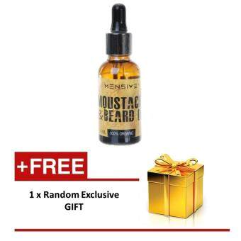 Harga Mensive Beard & Moustache Oil Serum (MBO)