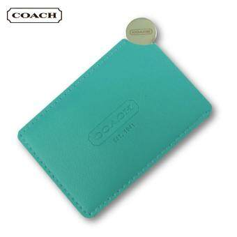 Harga Coach Stainless Steel Mirror (Tiffany Blue)