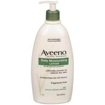 Harga Aveeno Active Naturals Daily Moisturizing Lotion, 18 Ounce