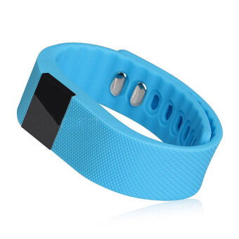 Harga S & F Smart Wristband Pedometer Heath for Android IOS Blue