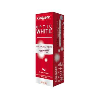 Harga COLGATE Optic White Sparkling Mint Toothpaste 100G