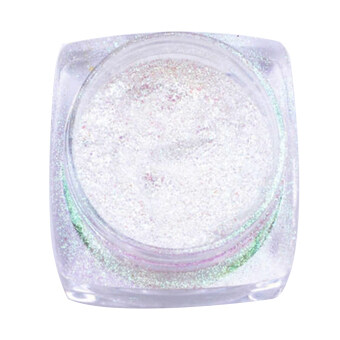 Harga Mirror Chrome Effect Dust Magic Glitter Shimmer Nail Art Powder (Green)