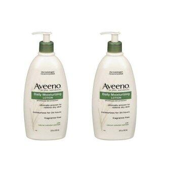 Harga Aveeno daily moisturizing Body Lotion twin pack (532ml x 2) (Intl)