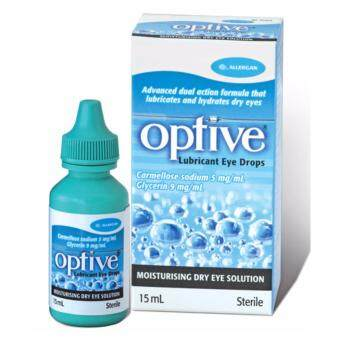 Harga Allergan Optive Lubricant Eye Drops 15ml