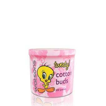 Harga WATSONS Looney Tunes Cotton Buds 300s X 2 300SX2