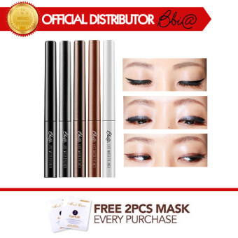 Harga BBIA Last Water Eyeliner No.01 Jet Black + Free 2 Pcs 3WClinic Mask Pack [Buy 1 Get 1 Freebie]