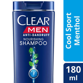 Harga Clear Men Cool Sport Menthol Anti-Dandruff Shampoo 180 ml