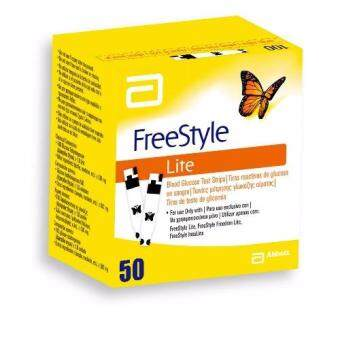 Harga Abbott Freestyle Lite Test Strips 50s
