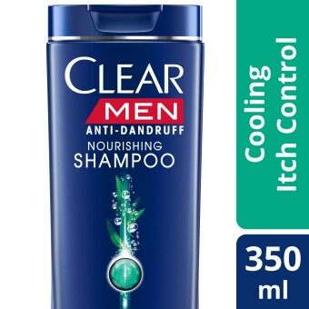 Harga Clear Men Cooling Itch Control Anti-Dandruff Shampoo 350 ml
