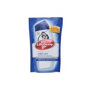 Harga Lifebuoy Mild Care with Milk Cream and Active5 Antibacterial Body Wash Refill 900ml