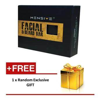 Harga MENSIVE Facial & Beard Bar (50 mg) with extra gift