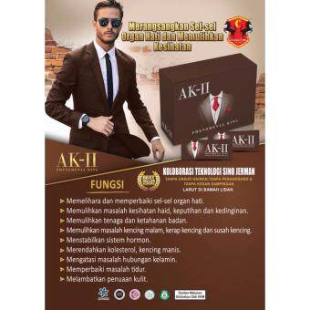 Harga AK2 AK-II Upgraded K2 K-II Phenomenal King (20 sachets/Box) Halal ~ NEW PACKING