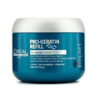 Harga Loreal Professionnel Expert Serie - Pro-Keratin Refill Correcting Care Masque (For Damaged Hair) 200ml