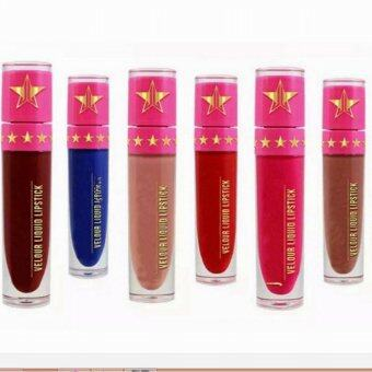 Harga 12 color hot five-pointed star lip gloss non-stick cup lipstick Celebrity Skin