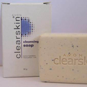 Harga Avon Clearskin Cleansing Soap 90g