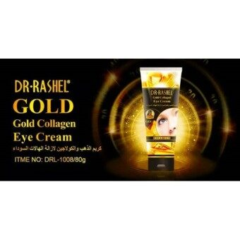 Harga DR-RASHEL GOLD COLLAGEN EYE CREAM 80ML
