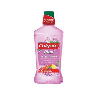 Harga COLGATE Plax Mouthwash Fruity Fresh 750ML