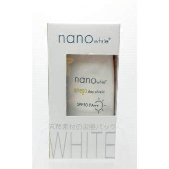 Harga Nano White Omega Day Shield SPF50 PA++ 35ml