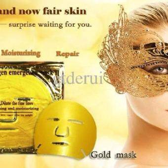 Harga 2x 24K GOLD LUXURIOUS BIO COLLAGEN ANTI AGING / WRINKLE BIO-COLLAGEN FACE MASK - SEE THE DIFFERENCE