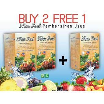 Harga Nice Feel - Orange Flavour Nutrition Drink with Fiber