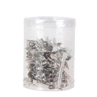 Harga 70pcs Hair Clips Hair Stainless Steel Hairdressing Sectioning Clips Clamp (Silver)