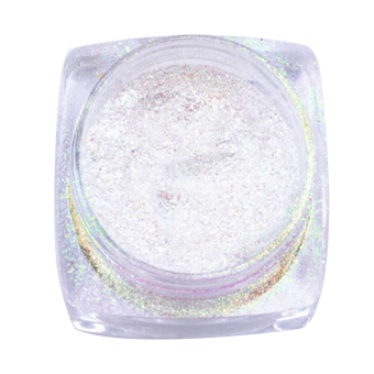 Harga Mirror Chrome Effect Dust Magic Glitter Shimmer Nail Art Powder (Yellow)