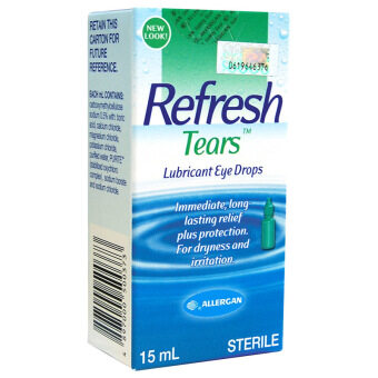 Harga Refresh Tears Eye Drops 15Ml