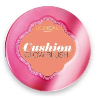 Harga L'Oreal Paris Lucent Magique Cushion Glow Blush [#C1 Sunkissed Coral]