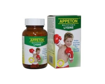 Harga Appeton Multivitamin Lysine with Prebiotic Tablet 60's