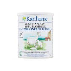 karihome goat milk infant formula with iron 400g 06 months