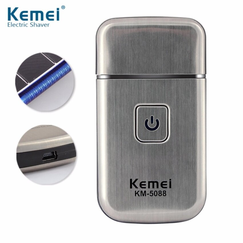Tips Beli Km Official Product 5088 Electric Public Hair Shaver Male Grooming Machine With Usb Plug Intl