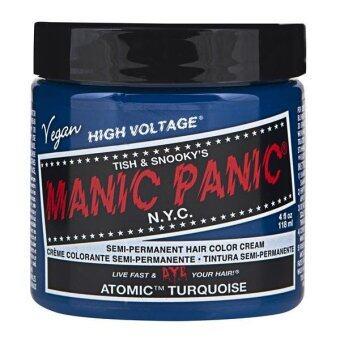 [MANIC PANIC] ATOMIC TURQUOISE / SEMI-PERMANENT HAIR COLOR CREAM /HAIR DYE