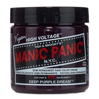 [MANIC PANIC] DEEP PURPLE DREAM / SEMI-PERMANENT HAIR COLOR CREAM /HAIR DYE (Intl)