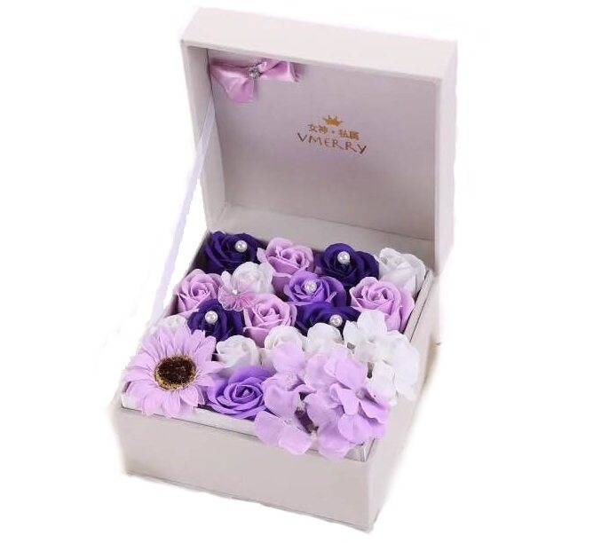 sc 1 st  Lazada & Mothers Day Roses Soap Flower Gift Box Set (Purple) | Lazada Malaysia Aboutintivar.Com