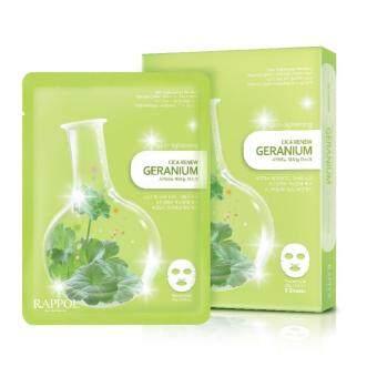 Nature Medics Rappol Cica Renew Geranium Mask 5 pieces