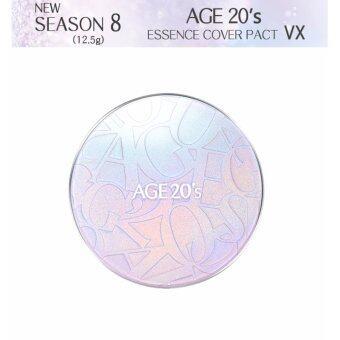 *NEW* AGE20's Essence Cover Pact VX Season 8 (ONLY An Original pack12.5g) No.21Light Beige - 2