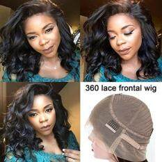 Premier hair care accessories wig hair extensions pads price premier 360 lace frontal wigs 150 density loose wave human hair wigs pre plucked natural hairline with baby hair 360 full lace frontal wigs for black women pmusecretfo Images