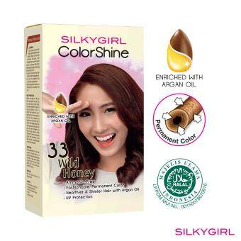 SILKYGIRL ColorShine Hair Color 33 Wild Honey (Brown)