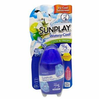 Harga Sunplay Watery Cool SPF75 35g