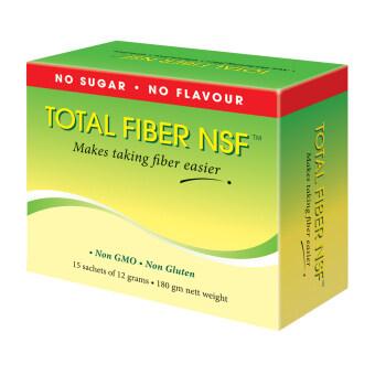 Total Fiber NSF™ No Sugar, No flavour (15 sachets x 12g)