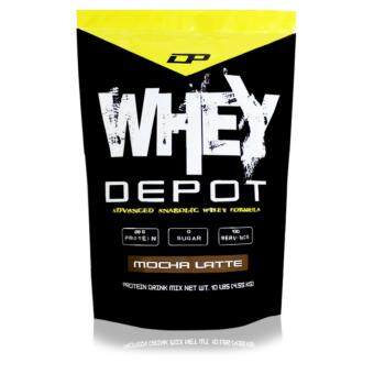 Whey Protein - Whey Depot 10lb, 100% Whey Isolate With 28g Protein Per Serving (Mocha Latte)