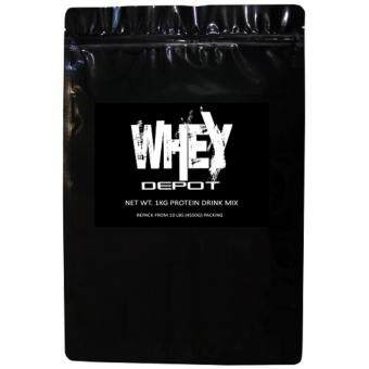 Whey Protein - Whey Depot 1kg (Repek from 10lb/4.5kg), 100% Whey Isolate With 28g Protein Per Serving, 33 Servings (Dutch Chocolate)