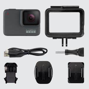 HERO7 Silver, HERO7 Silver description, HERO7 Silver features, HERO7 Silver, HERO7 in box contents