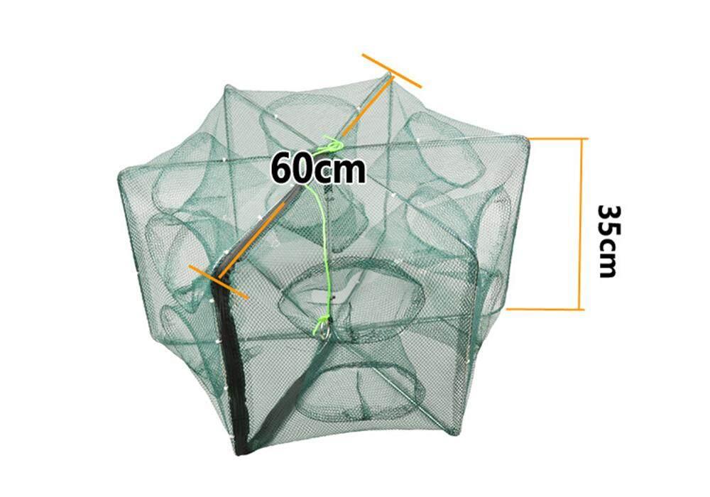 Portable Full Automatic Folding Shrimp Cage Fishing Net
