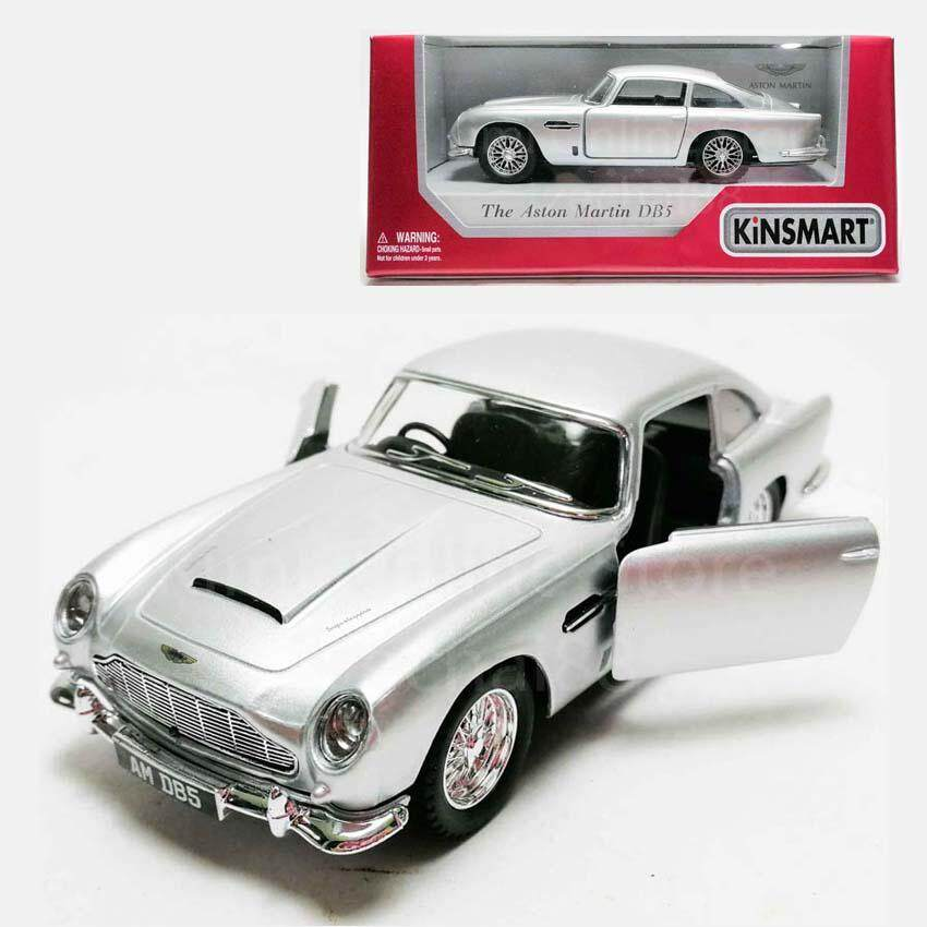 Kinsmart 1 38 Die Cast 1963 Aston Martin Db5 Car Model With Box Collection Silver New Pgmall