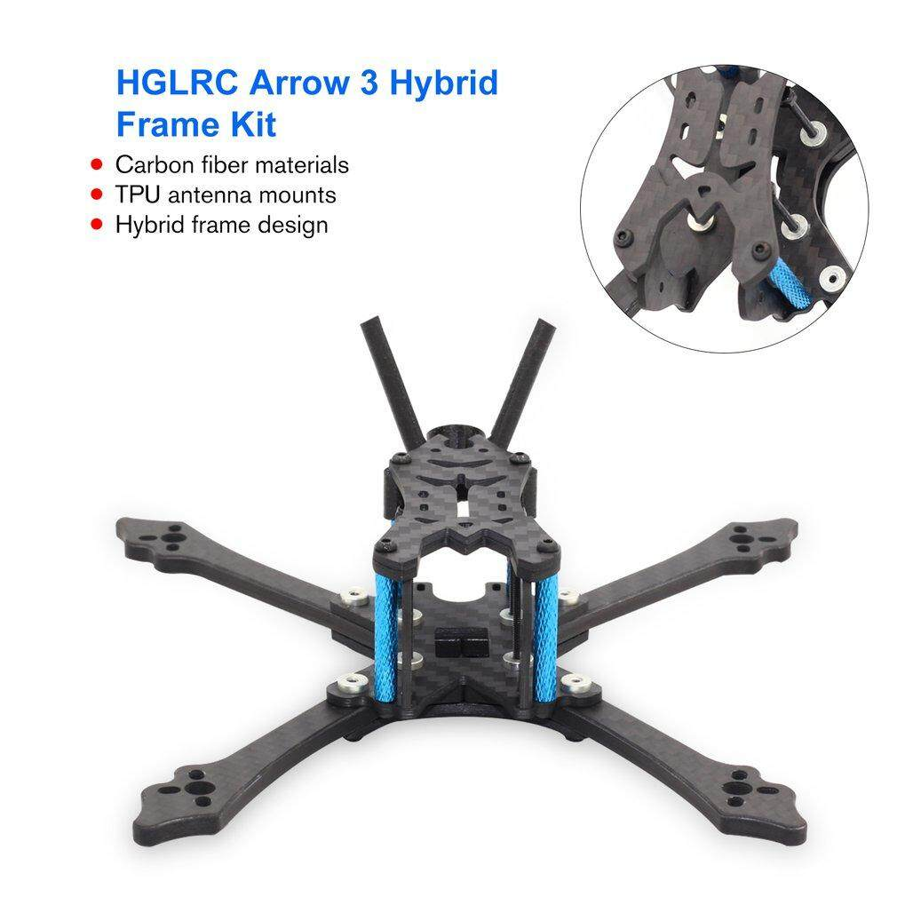 ERA HGLRC Arrow 3 inch Hybrid Frame Kit Arm 4mm for FPV Racing Drone Racing  Frame Kit with Wrench Tools High Quality