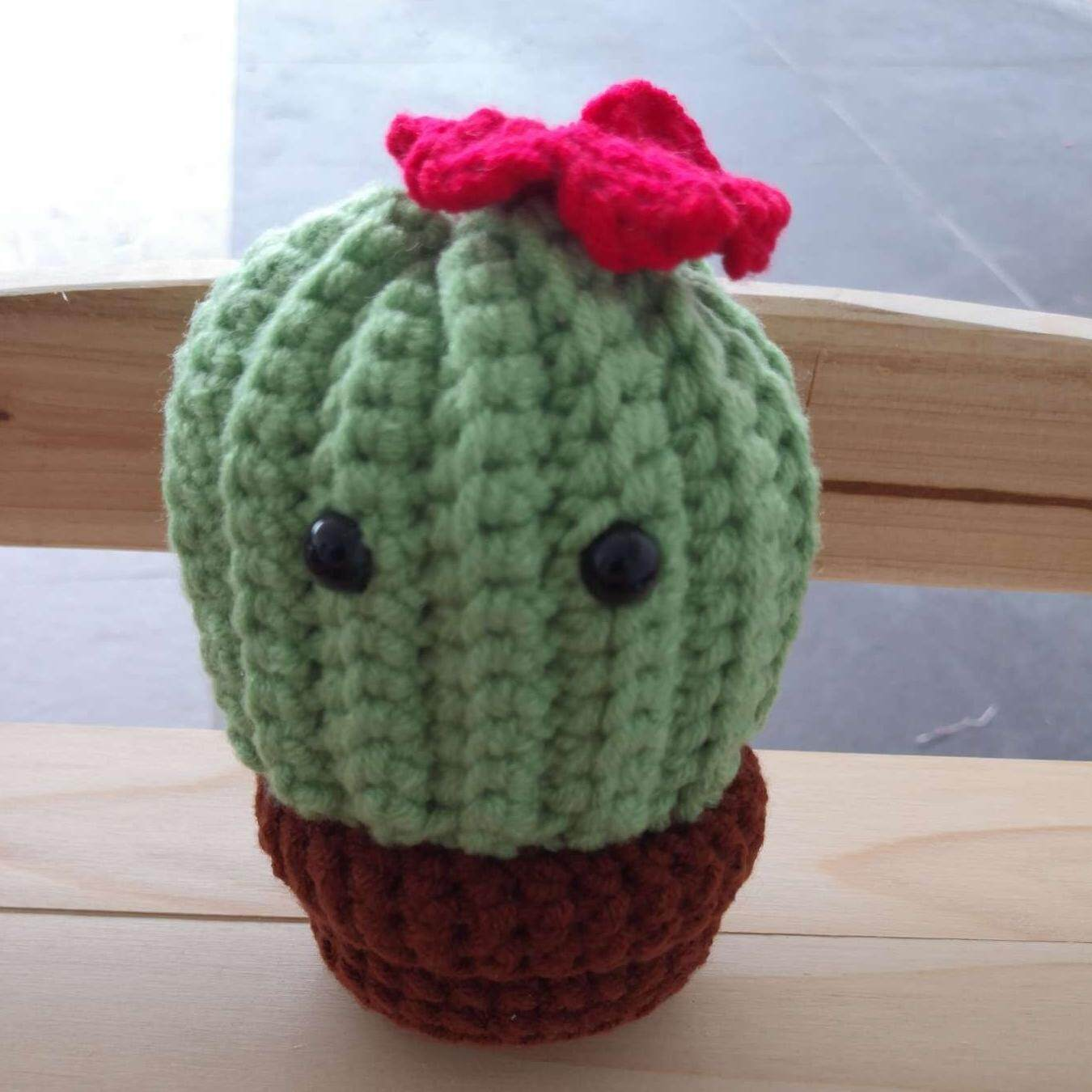 20 Desert Cactus Amigurumi Crochet Patterns - Look Surprisingly Real | 1350x1350